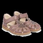 Sandal med justerbar velcrolukning