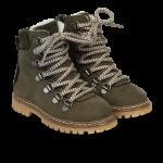 TEX-støvle med lynlås og snøre