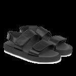 Sandal med velcrolukning