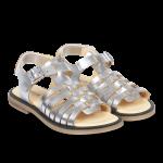 Sandal med spænde og velcro
