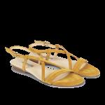 Sandal med spændelukning