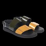 Sandal på plateausål