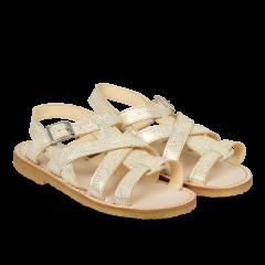 Sandal med spænde