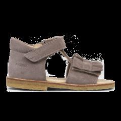 Begynder sandal med velcro og flæse