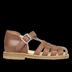 Sandal med velcro og pyntespænde