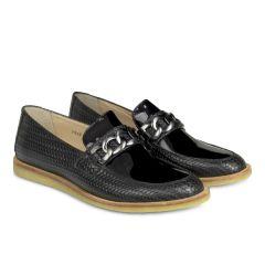 Loafer med kæde