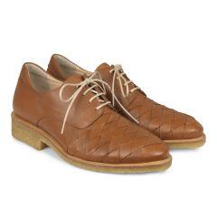 Klassisk sko med blød hælkappe