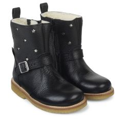 TEX-støvle med lynlås