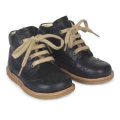 Begynder sko med snøre
