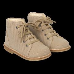 Begynder kanvas sko med snøre