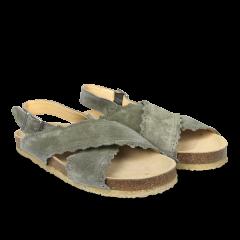 Sandal med blød fodseng