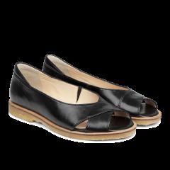 Sandal med hælkappe