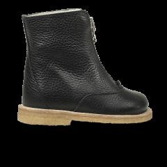 Støvle med uldfoer