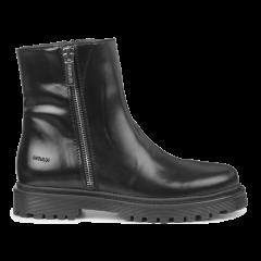 Støvle med lynlås og track-sål