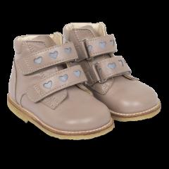 Begynder støvle med velcro og refleks