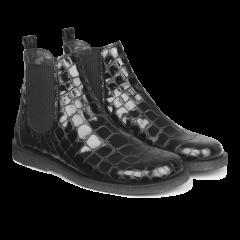 Chelsea støvle med bred pasform