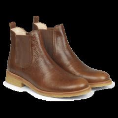 Klassisk chelsea støvle med elastik og strop.