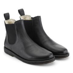 Chelsea støvle med uldfoer