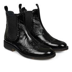 Chelsea støvle med hulmønster