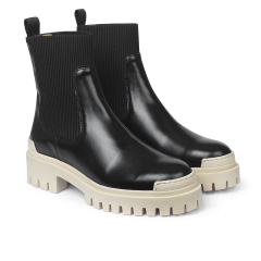 Støvle med elastik
