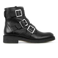 Støvle med lynlås