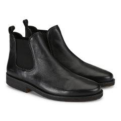 Chelsea støvle med elastik
