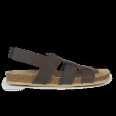 Sandal med fodseng og elastik