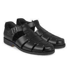 Klassisk herre sandal med spænde