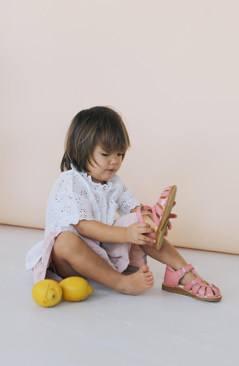 Begynder sandaler